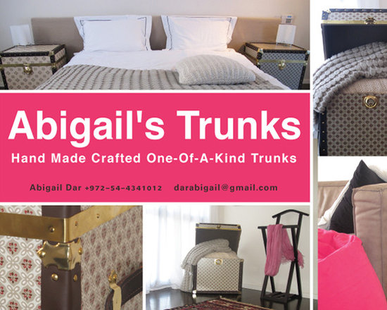 Abigail's Trunks - Abigail's Trunks contact & Details - Hand Made, One-of- a-kind Crafted Trunks made with greatest care and attention to detail in order to produce magazine-worthy pieces that instantly become the envy of every home.