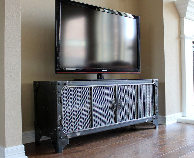 Modern Industrial Furniuture - Industrial - Entertainment Centers And Tv Stands - houston - by ...