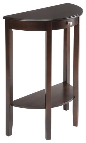 bay shore half moon console table modern side tables and end tables by wayfair. Black Bedroom Furniture Sets. Home Design Ideas