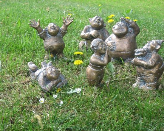 Bronze Statues - Garden Gnomes -
