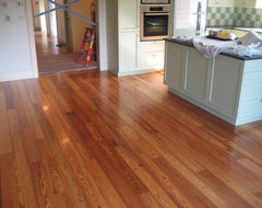 Heart Pine Home Project traditional-hardwood-flooring