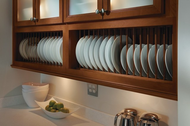 Homecrest Plate Rack Cabinet - Kitchen Cabinetry - other metro - by ...