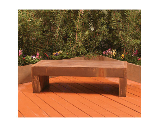 Trevi Bench - This is a super cool, modern bench with a simple, classic design. It's form is versatile enough to fit in anywhere.