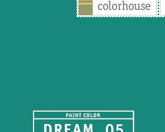 Colorhouse DREAM .05 - Colorhouse DREAM .05: Fun and punchy -- charismatic and contemporary. Sail the Caribbean. Use as an accent wall in any space or flood the whole room.