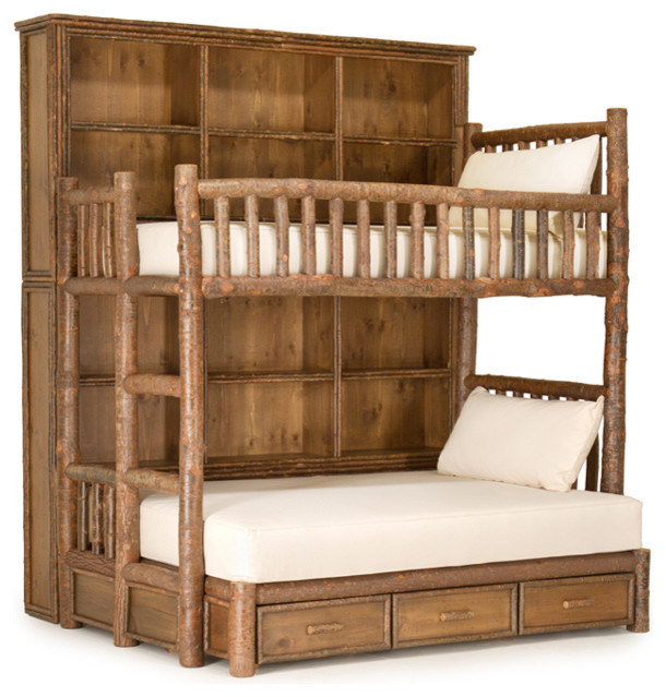 Rustic Custom Bunk Bed by La Lune Collection - Rustic - Bunk Beds ...