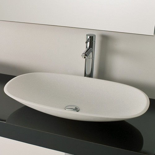 Ambiance Bain Tempo 25 Inch Vessel Sink Modern