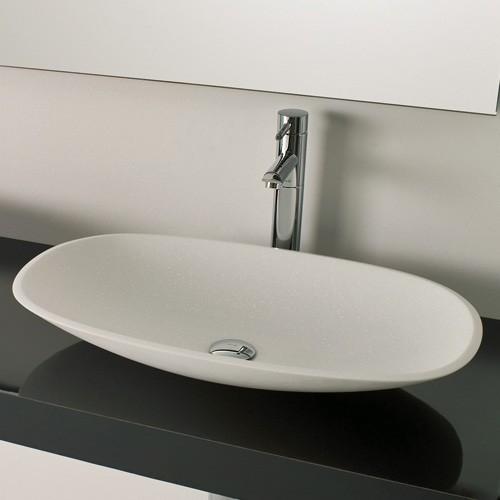 Ambiance Bain Tempo 25 Inch Vessel Sink Modern
