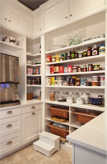 Example of nice pantry