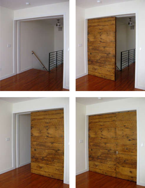 Sliding Barn Door modern-interior-doors