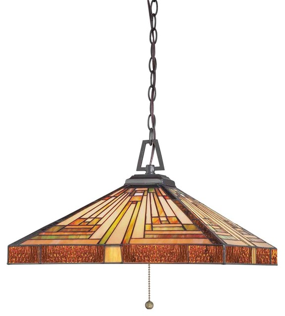 Quoizel TF885CVB Stephen Vintage Bronze Pendant craftsman-pendant-lighting