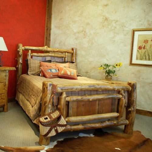 Yukon Panel Bed modern-bedroom