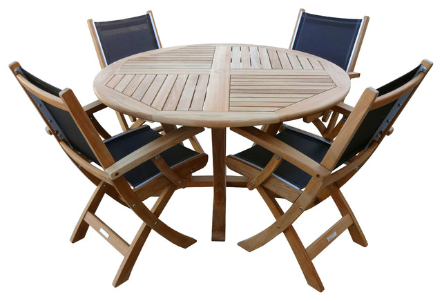 St. Tropez Dining Set contemporary-patio-furniture-and-outdoor-furniture