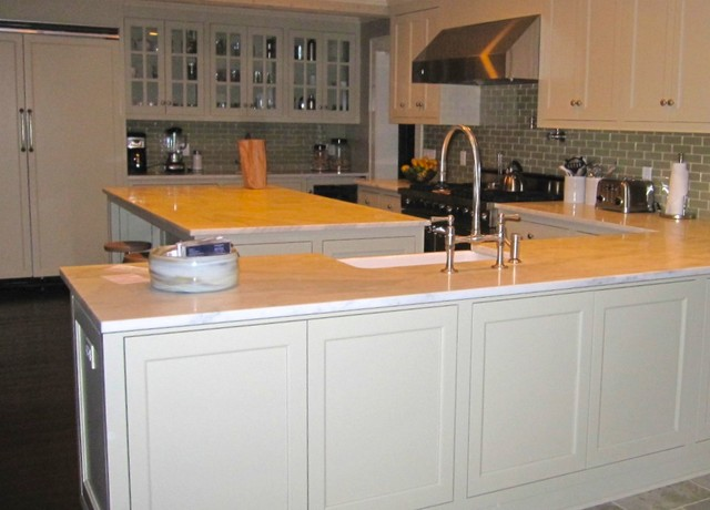 Hinton East Hampton traditional-kitchen