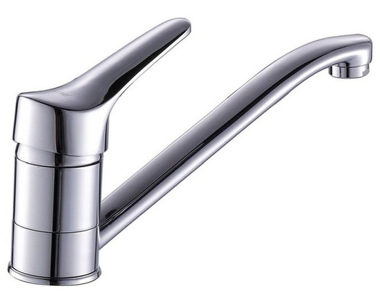 Classic Chrome Kitchen Faucet - Features: