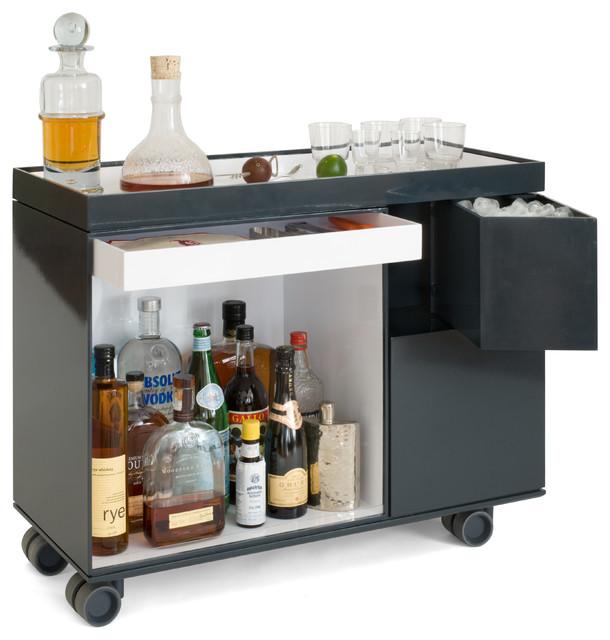 Box-Cart contemporary-bar-carts