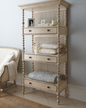 Summerville Etagere traditional-storage-and-organization