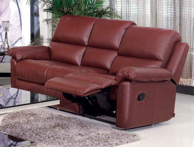 Dona Italian Leather Reclining Sofa