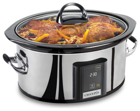 Crock Pot 6 5 Quart Slow Cooker With Elume Touchscreen