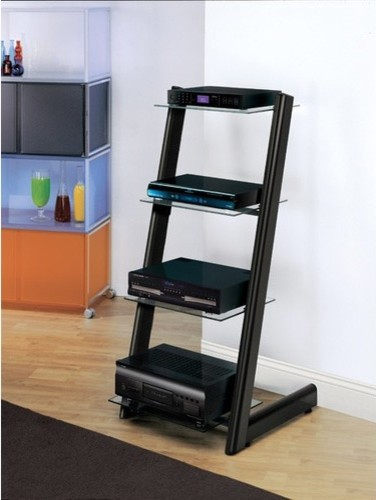 Audio Rack - Modern - Entertainment Centers And Tv Stands