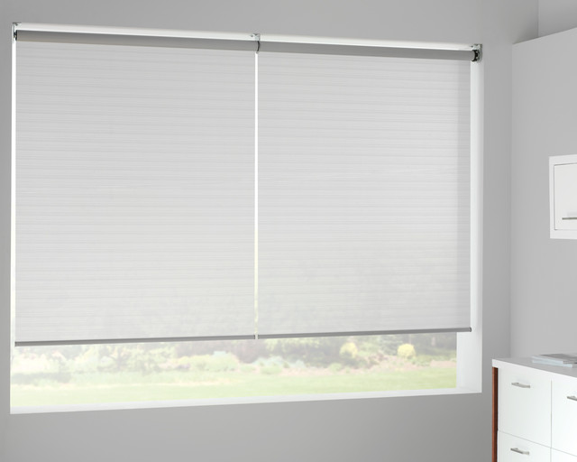 Designer roller shades with cordless system eclectic for 18 inch window blinds