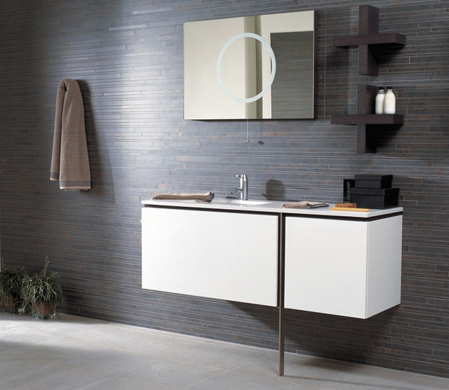 Porcelanosa Modern Bathroom Vanities And Sink Consoles Other Metro By