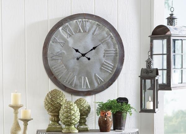 Galvanized Wall Clock Modern Wall Clocks