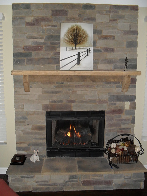 Mantle pieces indoor fireplaces other metro by antique beams boards - Fireplace mantel piece ...