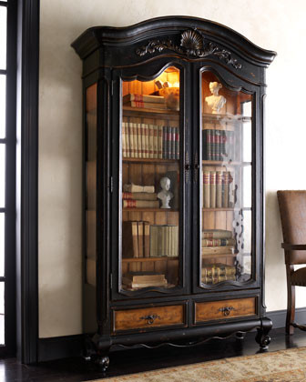 """Octavia"" Bookcase traditional-bookcases"