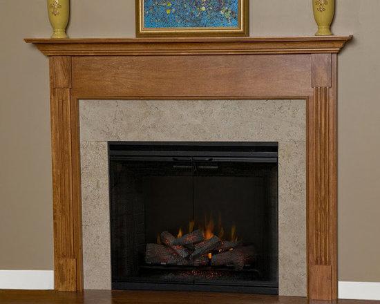 Appalachian Wood Fireplace Mantel -