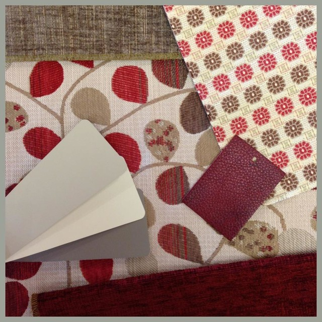 Playing with pattern contemporary-fabric