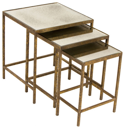 Jonathan Nesting Tables eclectic side tables and accent tables