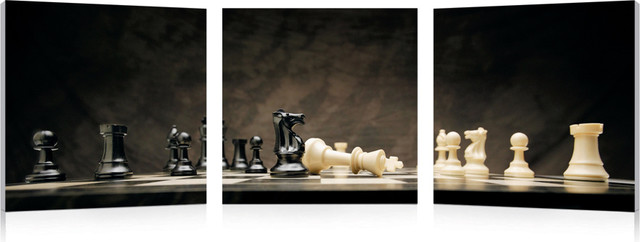 Game of Chess modern artwork
