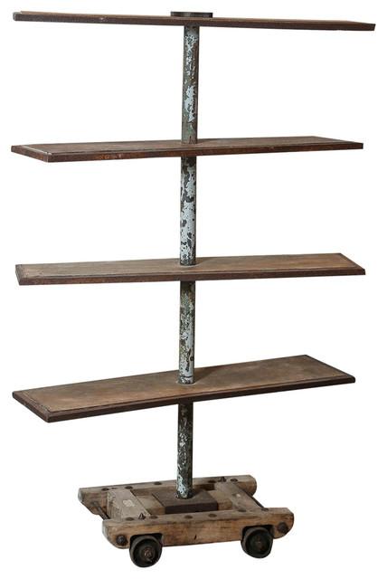 Industrial Drying Rack Cabinet ~ Industrial potters drying rack modern utensil holders