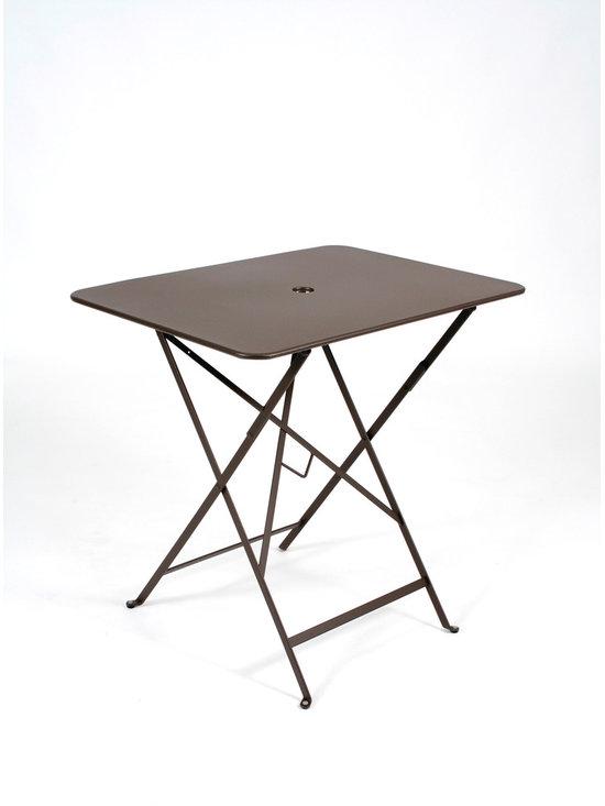 "Fermob Bistro Table - 0234 Fermob Rust Bistro Table 30x22"""