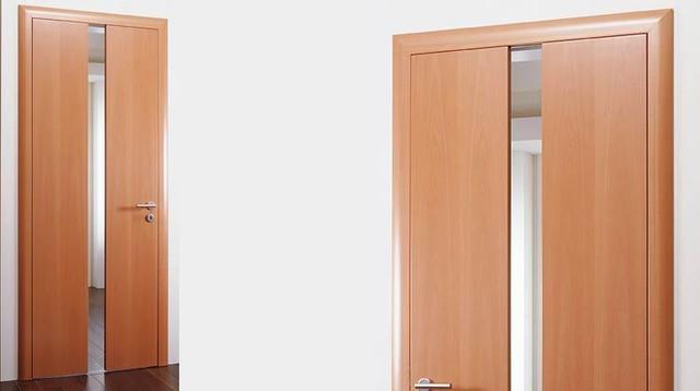 Glass insert flush door b44 for Flush front door