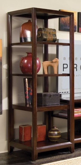 American Drew 912-590 Etagere Pier Tribecca traditional-display-and-wall-shelves