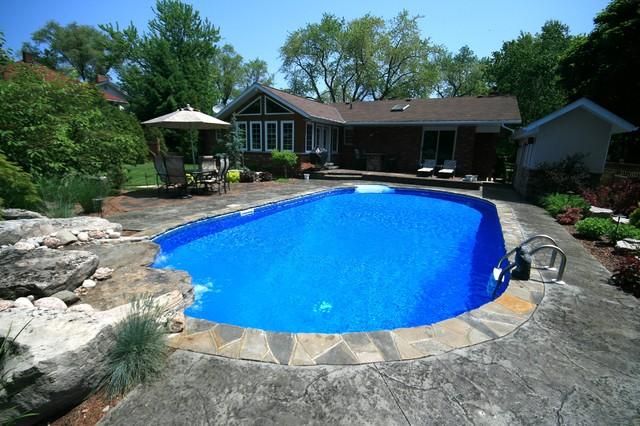 Ultimate Backyard Pools : Ultimate Oval Pool contemporaryswimmingpoolsandspas