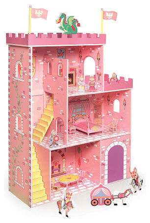 Fantasy Play Castle Dollhouse With Accessories - Contemporary - Kids Toys And Games - by Toys R Us