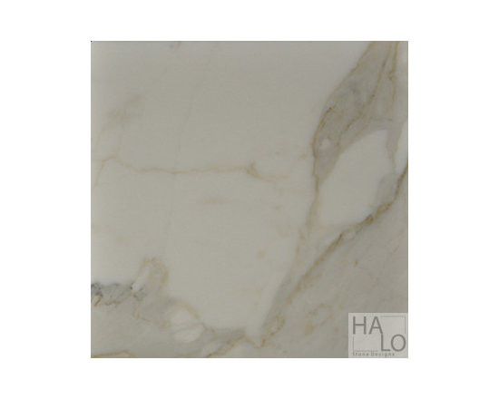 Calacatta Gold Marble Tiles - Honed 12x12