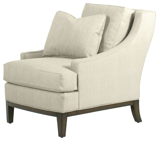 Elizabeth Chair Ivory Contemporary Armchairs And