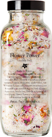 Flower Power Healing Bath Salts traditional bath and spa accessories