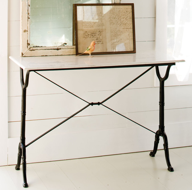 Marble Console Table traditional-buffets-and-sideboards
