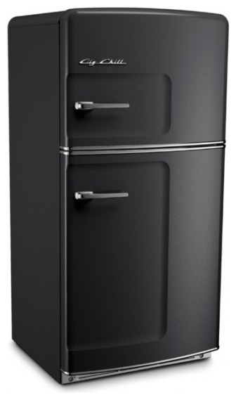 big chill original 20 9 cu ft top freezer refrigerator. Black Bedroom Furniture Sets. Home Design Ideas