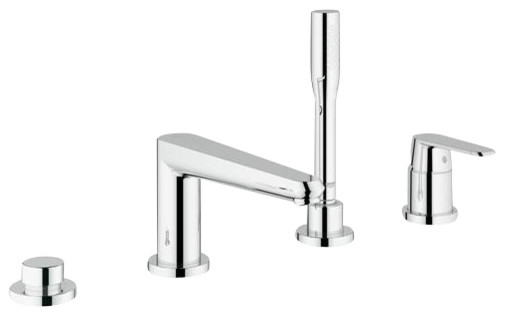 Grohe 19574002 Eurodisc Roman Bathtub Filler traditional-bathroom-faucets-and-showerheads