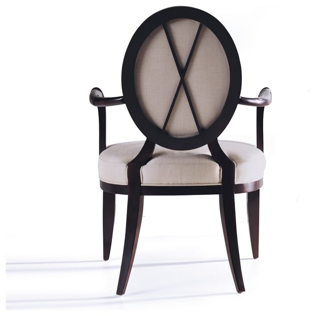 Oval X-Back Chair - Baker Furniture dining-chairs