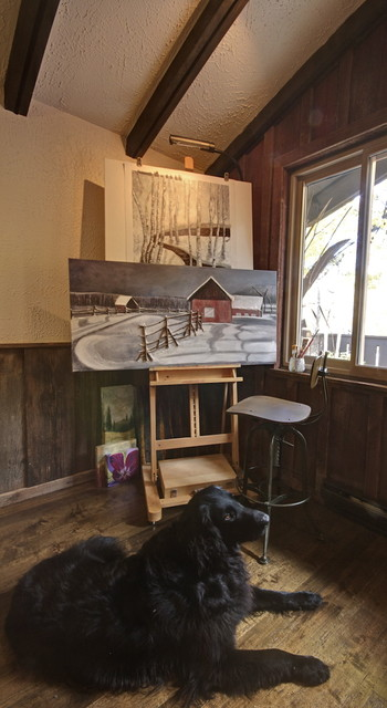 St. Moritz Crescent eclectic-home-office