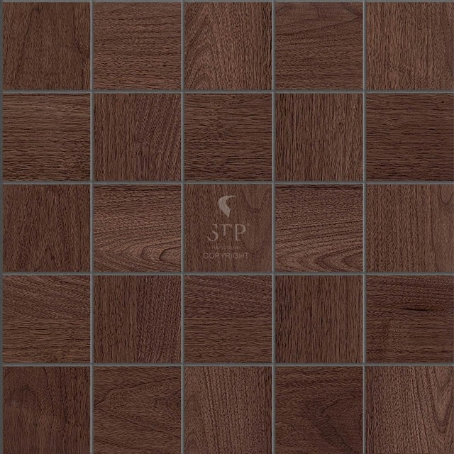 stp wood flooring wall covering walnut mosaics natural eclectic mosaic tile boston. Black Bedroom Furniture Sets. Home Design Ideas