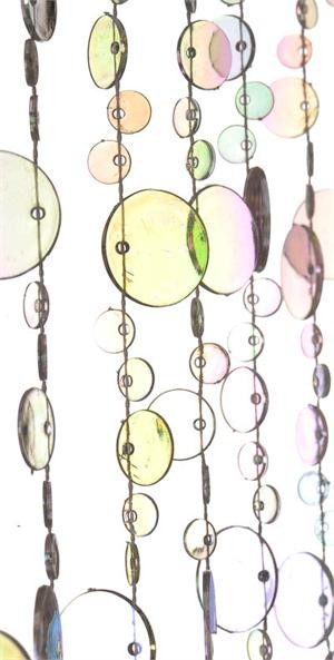 Champagne Bubbles Crystal Iridescent Beaded Curtain modern-home-decor