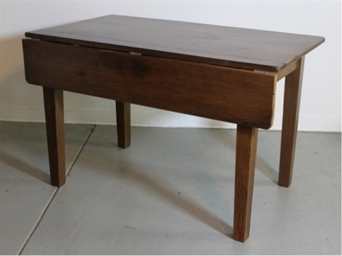 Small Drop Leaf Table In Oak farmhouse-dining-tables