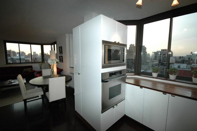 280 Park Avenue Condo contemporary kitchen
